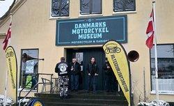 Fra sæsonåbning 2018. Danmarks Motorcykelmuseum, i Stubbekøbing, på Falster