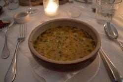 The traditional Polish soup