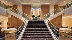 Lobby grand staircase
