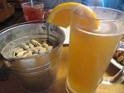 Free Peanuts ... and My Cold Blue Moon on Draft ...