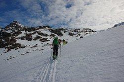 Climbing Mount Rombakstötta