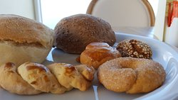 A selection of the morning pastries