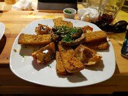 Duck foie gras with cardamon