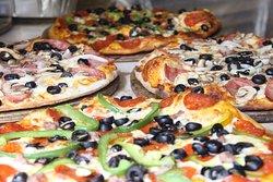 Villa italiana pizza a la leña