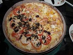 Pizza leve e saborosa!