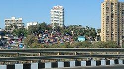 Colorful suburb