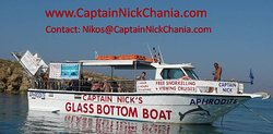 Captain Nick's Glass Bottom Boat Aphrodite