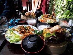 Menu midi Thai complet à 13.90 euros