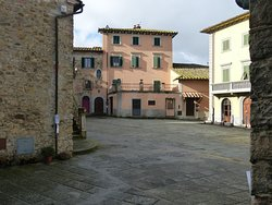 The Piazza at Pergine Valdarno
