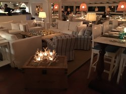 the lounge at Bonito's