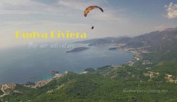 Paragliding is the best offer outdoor activity in Montenegro
