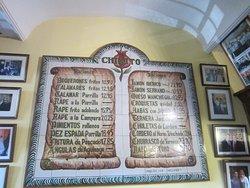 tiled menu
