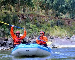 River rafting Cusipata Cusco