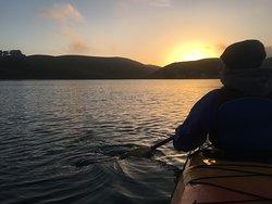 Sunset at Tomales Bay