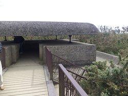 Control bunker outside