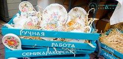 Фирменный магазин Семикаракорской керамики