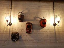The Foundary, Perth, Scotland - Some interesting Foundary items on show inside