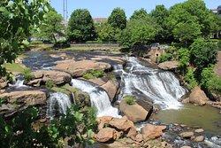 Falls Park på Reedy