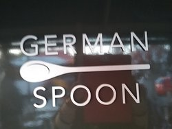 Good food at the GERMAN SPOON. Value and flavour. Yummmm