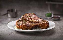 Our famous Porterhouse steak