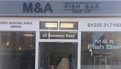 M & A Fish Bar since 1979