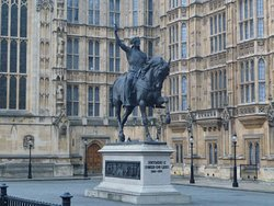 Statue of King Richard the Lionheart
