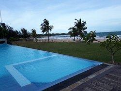 Un endroit paradisiaque très calme