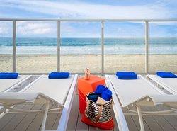 海滩露台旅馆