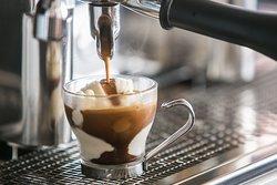 Affogato al caffe...che delicatezza