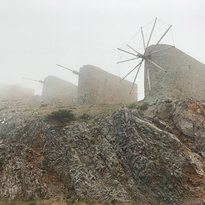 Windmills Of Lasithi Plateau