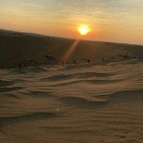 Белые песчаные дюны