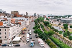 Montreal Walking Tour - Pointe-à-Callière Lookout