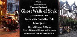 ‪Trevor Rooney's World Famous Ghost walk of York‬