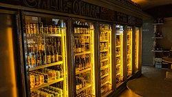 Beer stop in lower east side manhattan