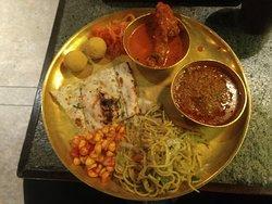 Dinner thali