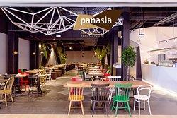 Restaurant asiatique panasia vill'up vue d'extérieur (entrée)
