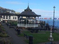 Nice seaside park