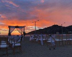 Beach wedding location (San Juan Beach near Bambu Cafe)