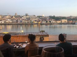 Sunset on Duoro from Quay Wine Bar