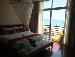 sea view room ' it's heaven'