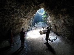 A hike to the caves - magical