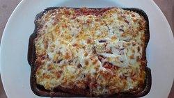 The excellent lasagne!