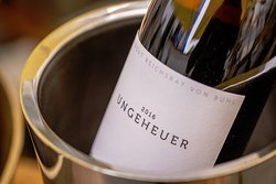We serve carefully selected local wines