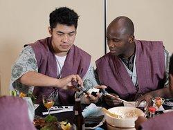 初めての手巻き寿司体験