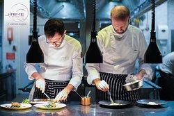 Head Chef Amerigo Sesti & Sous Chef Nicolas Valanchon