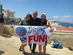 Corsair Diving Malta