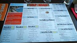 Bon restaurant belle vue sur mer