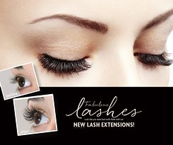Three types of Eyelash Extension at the Hand and Stone College