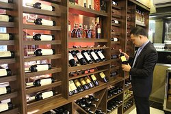 Best wine selection, good price and store condition.