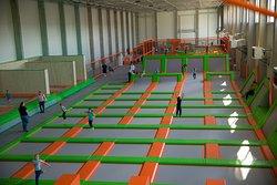 Jump Arena Park Trampolin Poznan